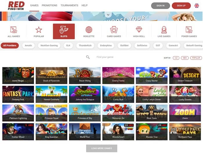 Check all best slots and live games