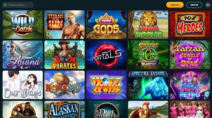 Microgaming Casino Slots at Roku Casino