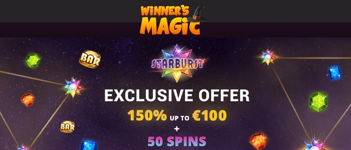 150% exclusive offer