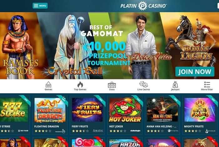 Casino Tournament and Freeroll