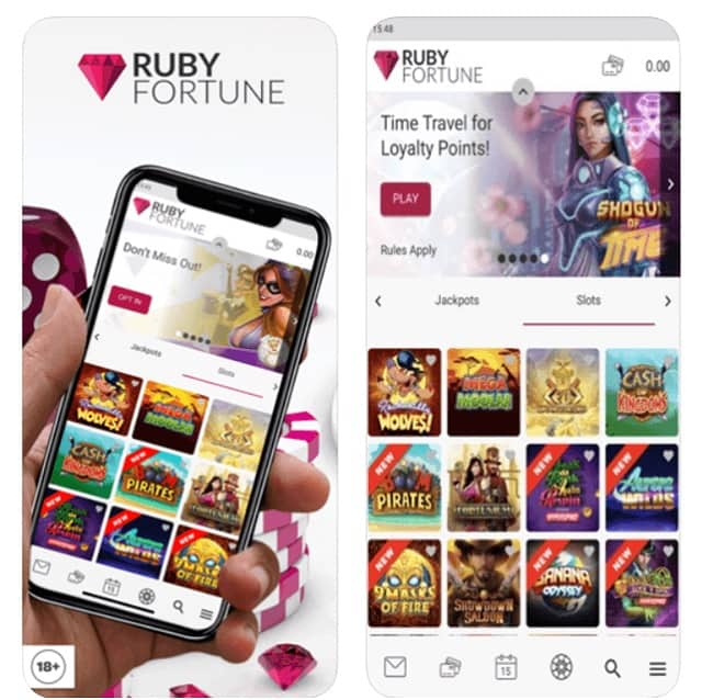 Ruby Fortune Casino Mobile Review
