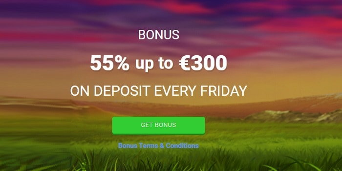 55% Friday Bonus