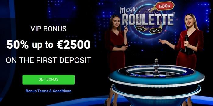 Mega Slot High Roller Bonus