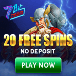 7Bit Casino 20 free spins no deposit bonus on registration