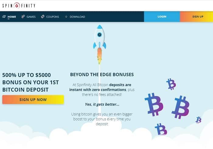 500% Bitcoin Bonus up to $5000